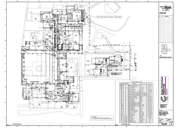 FA-07 Floor Plan 1st