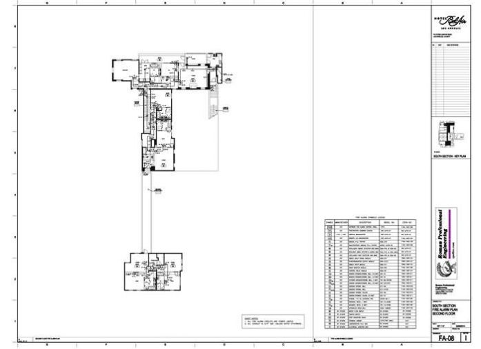 FA-08 Floor Plan 2nd