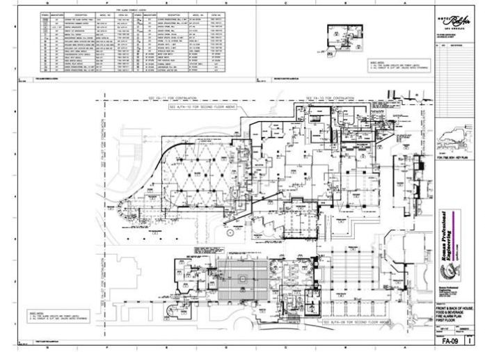 FA-09 Floor Plan 1st