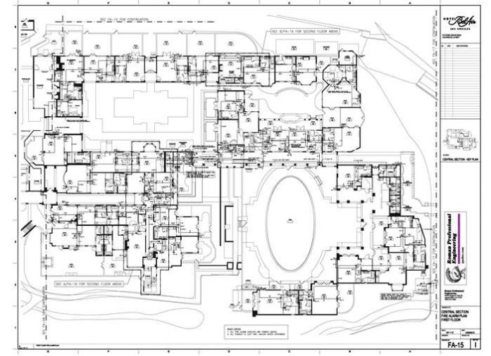 FA-15 Floor Plan 1st