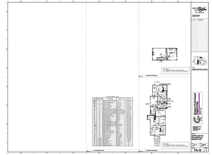 FA-16 Floor Plan 2nd